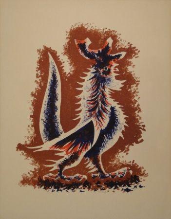 リトグラフ Lurcat - Coq