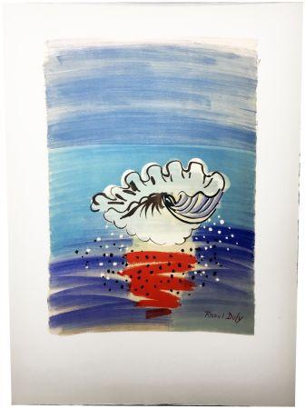 リトグラフ Dufy - COQUILLAGE. Hommage à Raoul Dufy (1955)