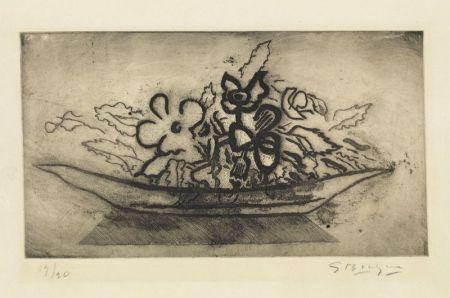 アクチアント Braque - Corbeille de fleurs