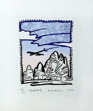 彫版 Alechinsky - Cordilliere
