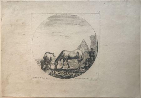 ポイントーセッシュ Della Bella - Country side sene with horses