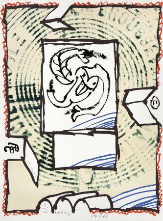 リトグラフ Alechinsky - Coup d'oeil