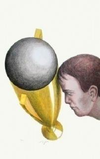 リトグラフ Topor - Coupe Du Monde 82