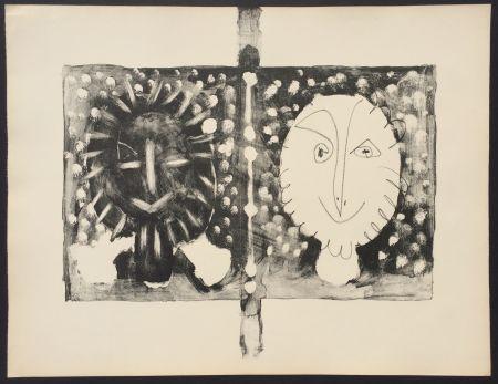 リトグラフ Picasso - Couverture Mourlot I (B. 591)