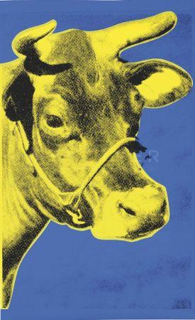 シルクスクリーン Warhol - Cow (Fs Ii.12)