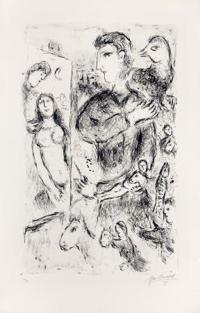 リトグラフ Chagall - Création