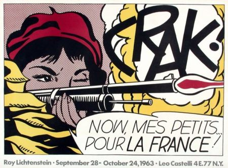 オフセット Lichtenstein - Crak!