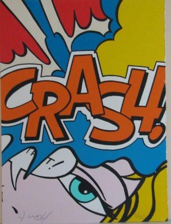 リトグラフ Matos - Crash Orange