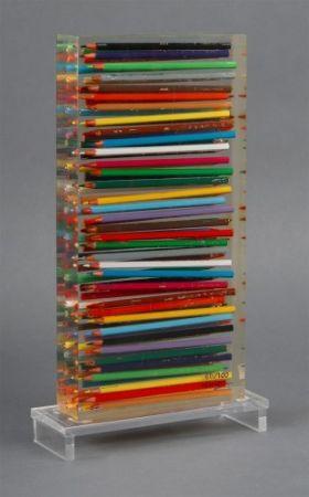 多数の Arman - Crayons Couleurs Accumulation