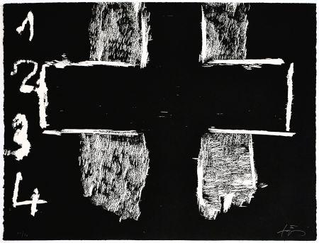沈み彫り Tàpies - Creu