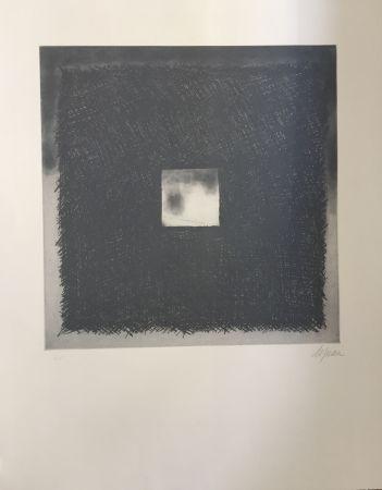 エッチングと アクチアント De Juan - Cuadrado gris