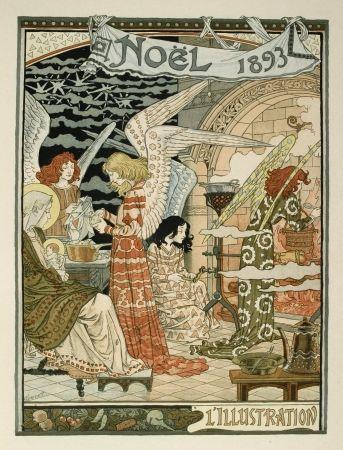 リトグラフ Grasset - Cuisine des anges / Angels' Kitchen