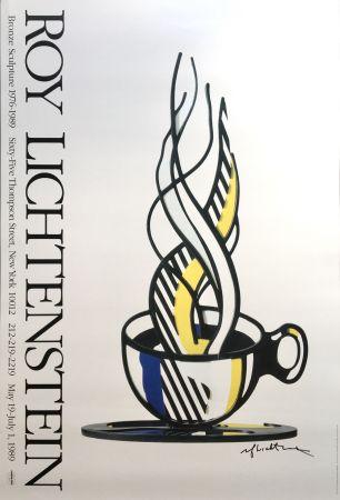 技術的なありません Lichtenstein - Cup and Saucer II (Hand Signed)