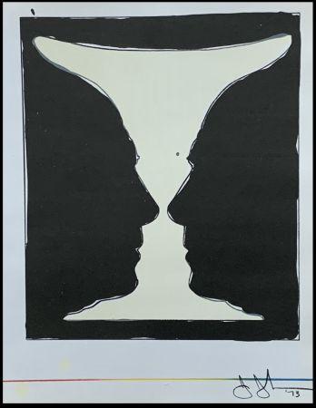リトグラフ Johns - Cup Two Picasso