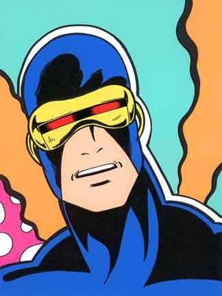 シルクスクリーン Matos - Cyclops