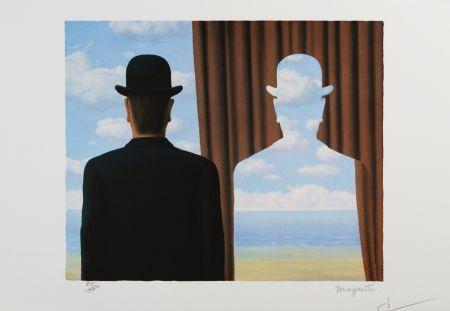 リトグラフ Magritte - Décalcomanie (Decalcomania)