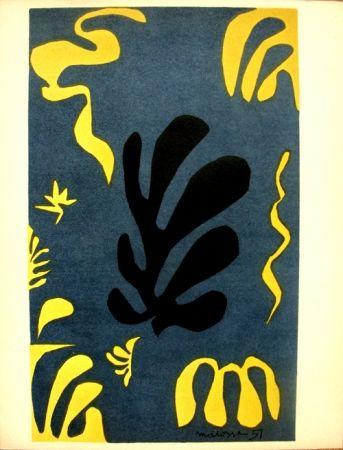 リトグラフ Matisse - Découpages Pour Le Xx E  Siecle