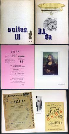 挿絵入り本 Duchamp - DAda. Suites 10. Catalogue de la Galerie Krugier (1966)