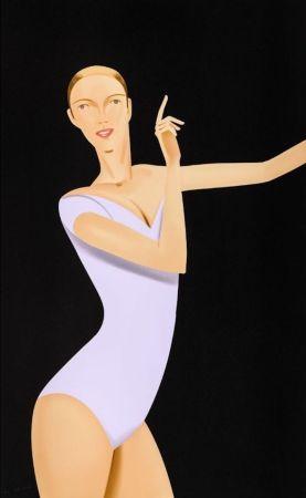 シルクスクリーン Katz - Dancer I