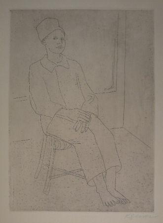 彫版 Geiser - Daniel mit der Zuavenmütze