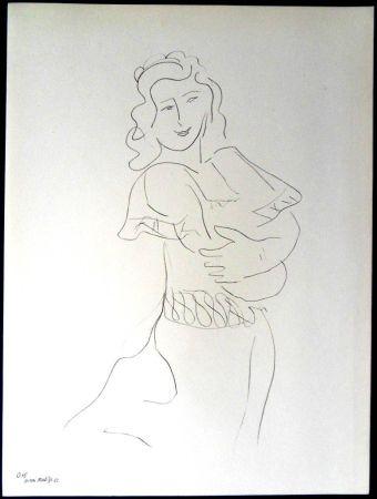 リトグラフ Matisse - Danseur