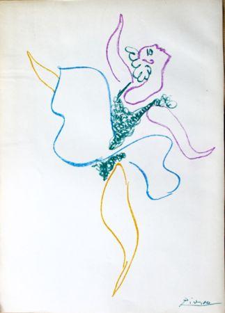 リトグラフ Picasso -  Danseuse