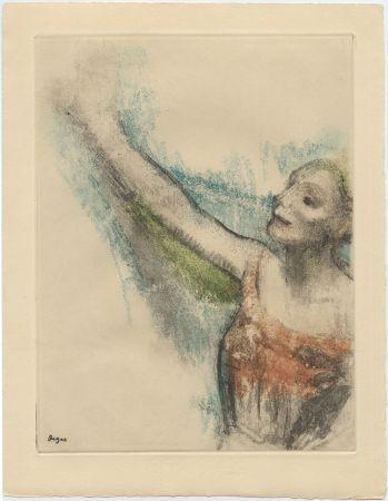 エッチングと アクチアント Degas - Danseuse (étude, vers 1878-1880)