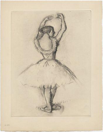 エッチング Degas - Danseuse (étude, vers 1878-1880)