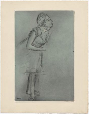 エッチングと アクチアント Degas - Danseuse (étude, vers 1878)