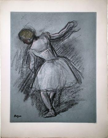 エッチングと アクチアント Degas - Danseuse (étude, vers 1890)