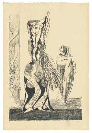 リトグラフ Ernst - Danseuses