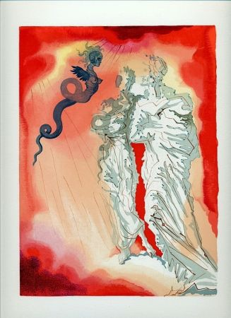 挿絵入り本 Dali - Dante : LA DIVINE COMÉDIE. 6 volumes. 100 planches couleurs. (1959)