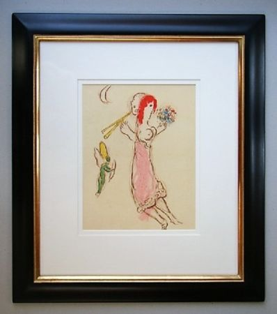 リトグラフ Chagall - Daphnis Et Chloé
