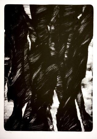 リトグラフ Tøjner - Dark shadows of central park