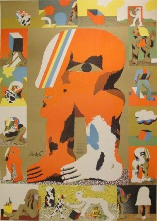 リトグラフ Antes - Das graphische Werk 1959 bis 1967