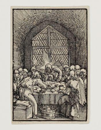 木版 Altdorfer - Das letzte Abendmahl (The last Supper)