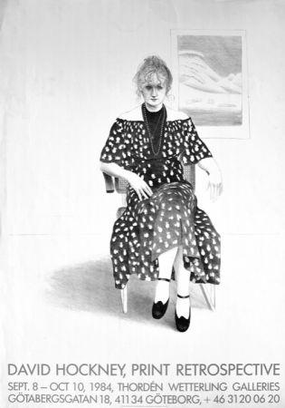 技術的なありません Hockney - David Hockney, Print Retrospective
