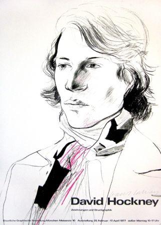 掲示 Hockney - David Hockney, Zeichnungen und Druckgraphik