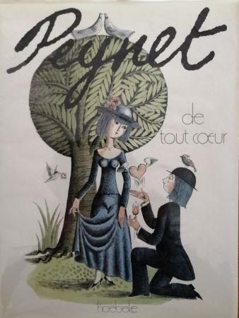 挿絵入り本 Peynet - De tout coeur