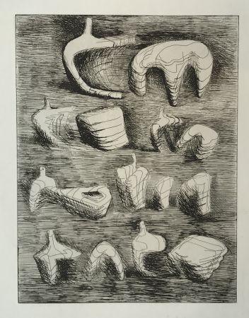 彫版 Moore - Deconstructed Figures