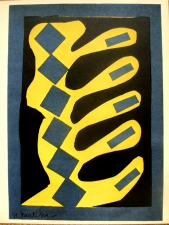 リトグラフ Matisse - Decoupages Pour Le Xxe  Siecle