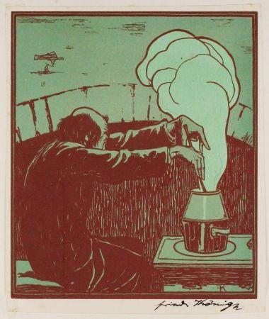 木版 König  - Der Alchemist (The Alchemist)