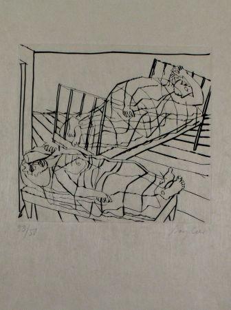 彫版 Bargheer - Der Gast