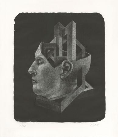 リトグラフ Ott - Der Kaiser (L'Empereur)