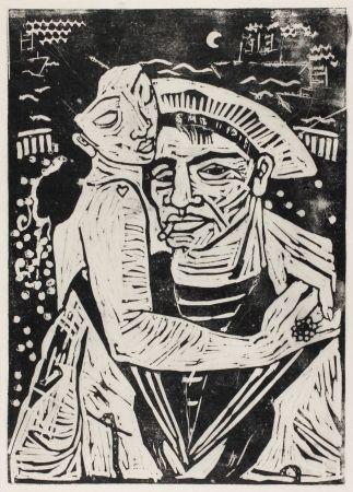 木版 Hamerschlag - Der Matrose Girolamo  (The Sailor Girolamo)