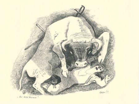 リトグラフ Geiger - Der tote Torero / The Dead Bullfighter