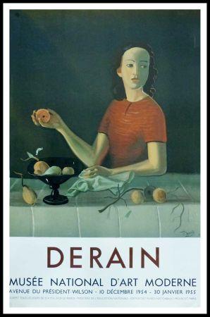 掲示 Derain - DERAIN - EXPOSITION MUSÉE NATIONALE D'ART MORDERNE