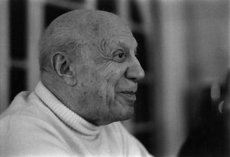 写真 Clergue - Dernier Portrait De P. Picasso