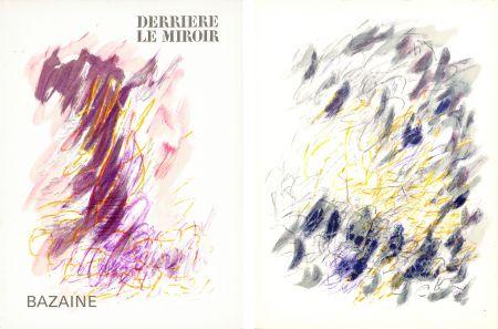 挿絵入り本 Bazaine - DERRIÈRE LE MIROIR N°170. Mars 1968. 6 LITHOGRAPHIES ORIGINALES EN COULEURS.