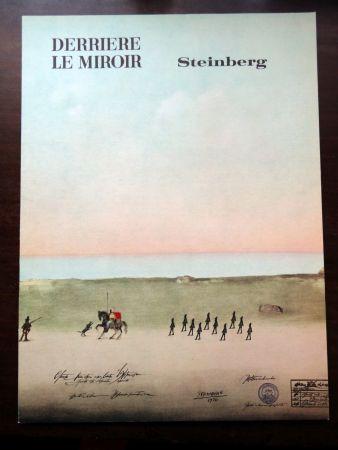 挿絵入り本 Steinberg - DERRIÈRE LE MIROIR N°192